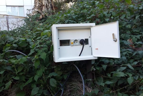 Произведен электромонтаж электрооборудования канализации